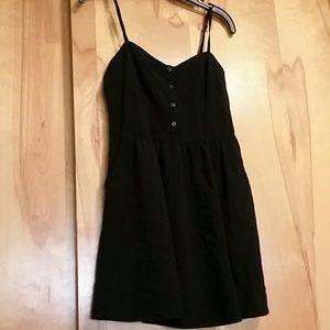 Express Black Rayon Cami Sundress Medium